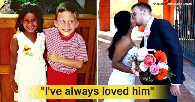 Meet the couple who fell in love when they were just preschoolers and tied the knot 22 years later