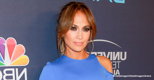 J.Lo Caught on Camera While Filming 'Hustlers'