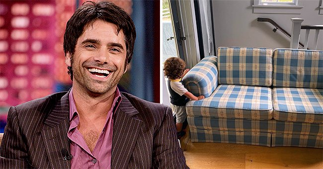 John Stamos from 'Full House' Reveals Couch from the Famous Show Is Hiding in His House
