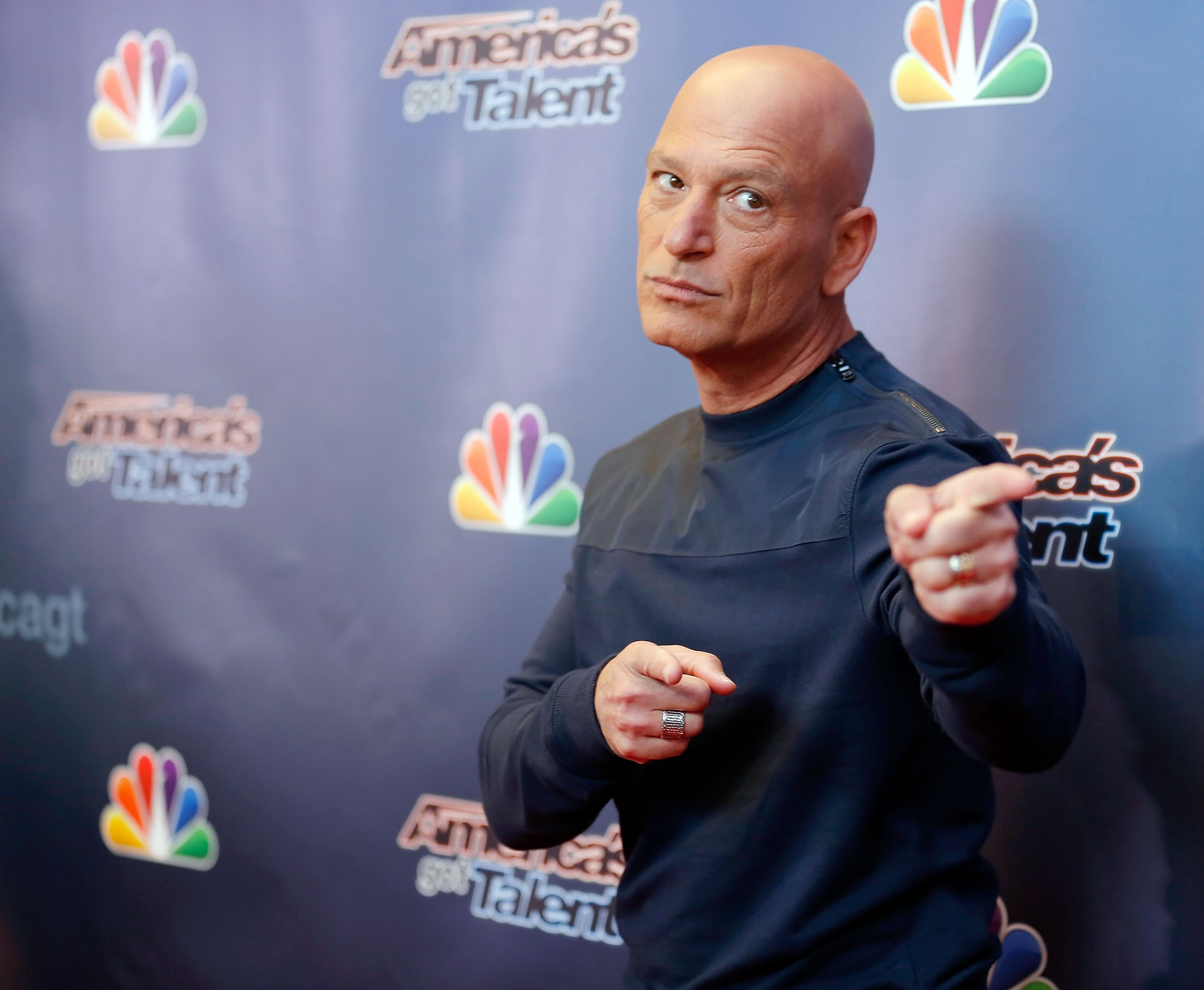 Howie Mandel on April 4, 2014 in New York City | Photo: Getty Images