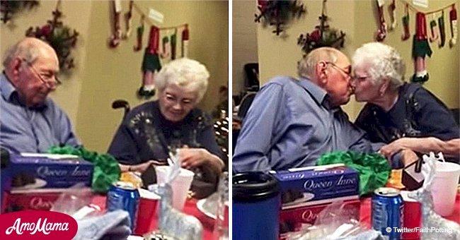 Un homme a surpris sa femme avec une nouvelle bague pour leur 67ème anniversaire de mariage après qu'elle ait perdu la sienne