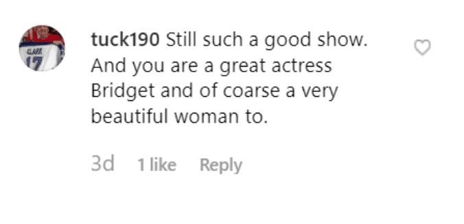 Fans' comment on Bridget Moynahan's post. | Source: Instagram/bridgetmoynahan