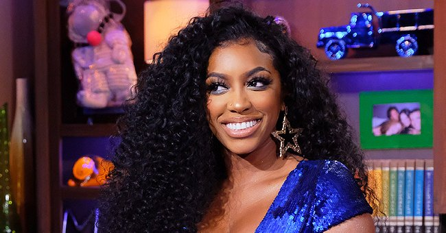 Porsha Williams' Daughter Pilar Jhena Poses on Pink Toy Car as She Wears Blue Jacket & Cute Hair Bows in Photos