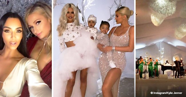 Celebs, fancy looks, elegant decorations: See how the Kardashian-Jenners throw a Christmas party
