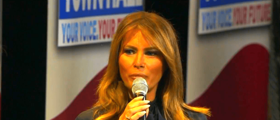 Melania Trump | Quelle: YouTube/FOX26