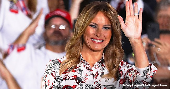 Twitter Savages Melania Trump's $2,500 Dress, Compares It to Curtain