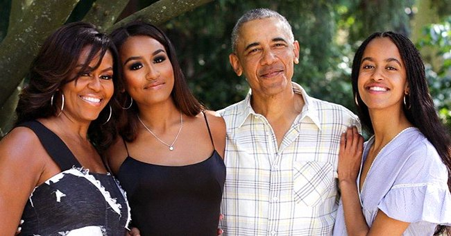 Michelle Obama Says She's Teaching Daughters Malia & Sasha to Accept Their Bodies as They Get Older