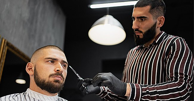 A photo of a man at the salon.   Photo: Shutterstock