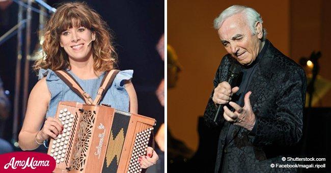 Magali Ripoll partage des souvenirs touchants de Charles Aznavour, parlant de leur collaboration