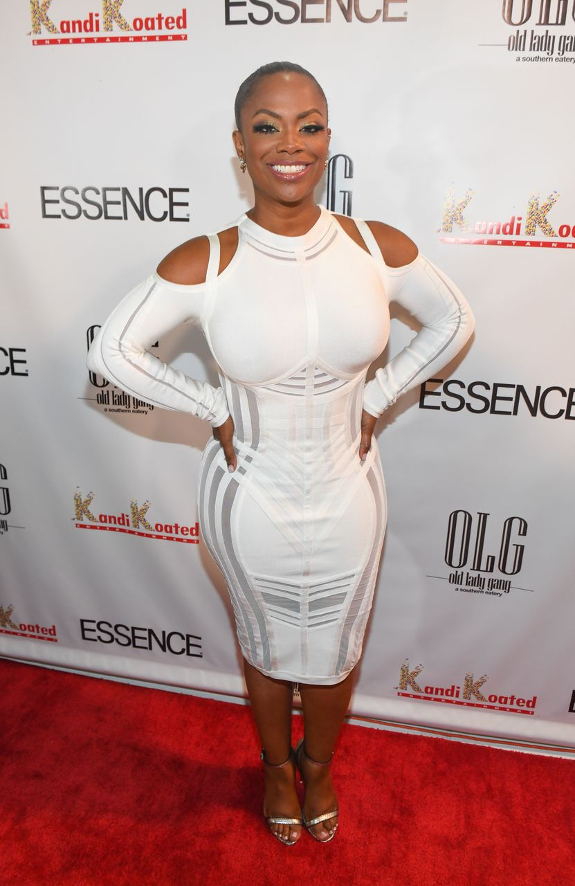 Kandi Burruss during the Essence Magazine's celebration of Kandi Burruss' October 2017 cover at Revel on September 22, 2017 in Atlanta, Georgia. | Source: Getty Images