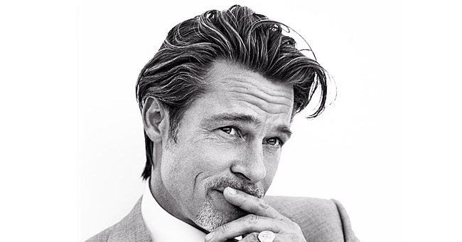 Brad Pitt, 56, Defies His Age Wearing Classic Suit & Jewelry as He Models Collection for Brioni