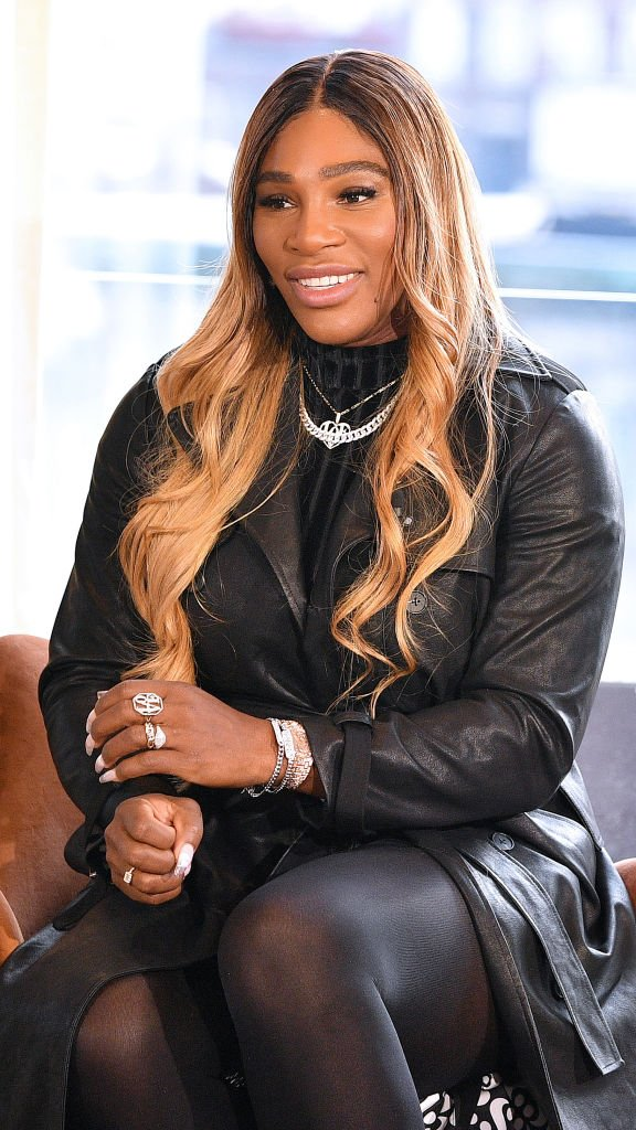 Serena Williams speaks at the S By Serena Presentation during New York Fashion Week: The Shows at Spring Place on February 12, 2020   Photo: Getty Images
