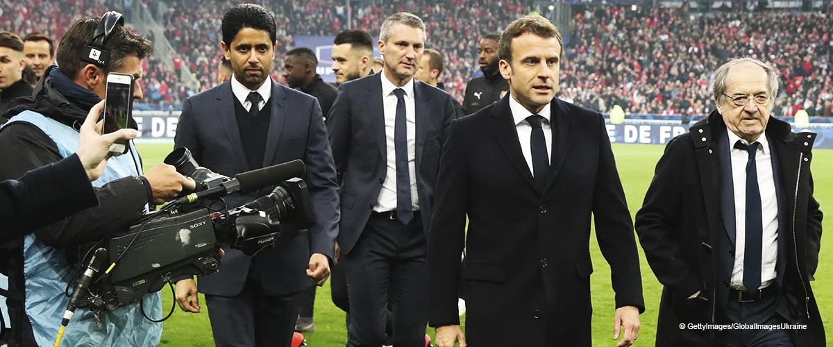 Emmanuel Macron : chahuté par des supporteurs parisiens lors de la finale