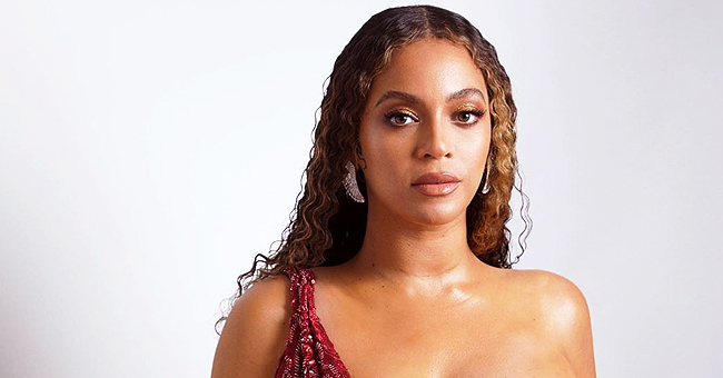 Beyoncé Shows up for Niece's Great Gatsby-themed Party in Sparkly Ruby Red Gown