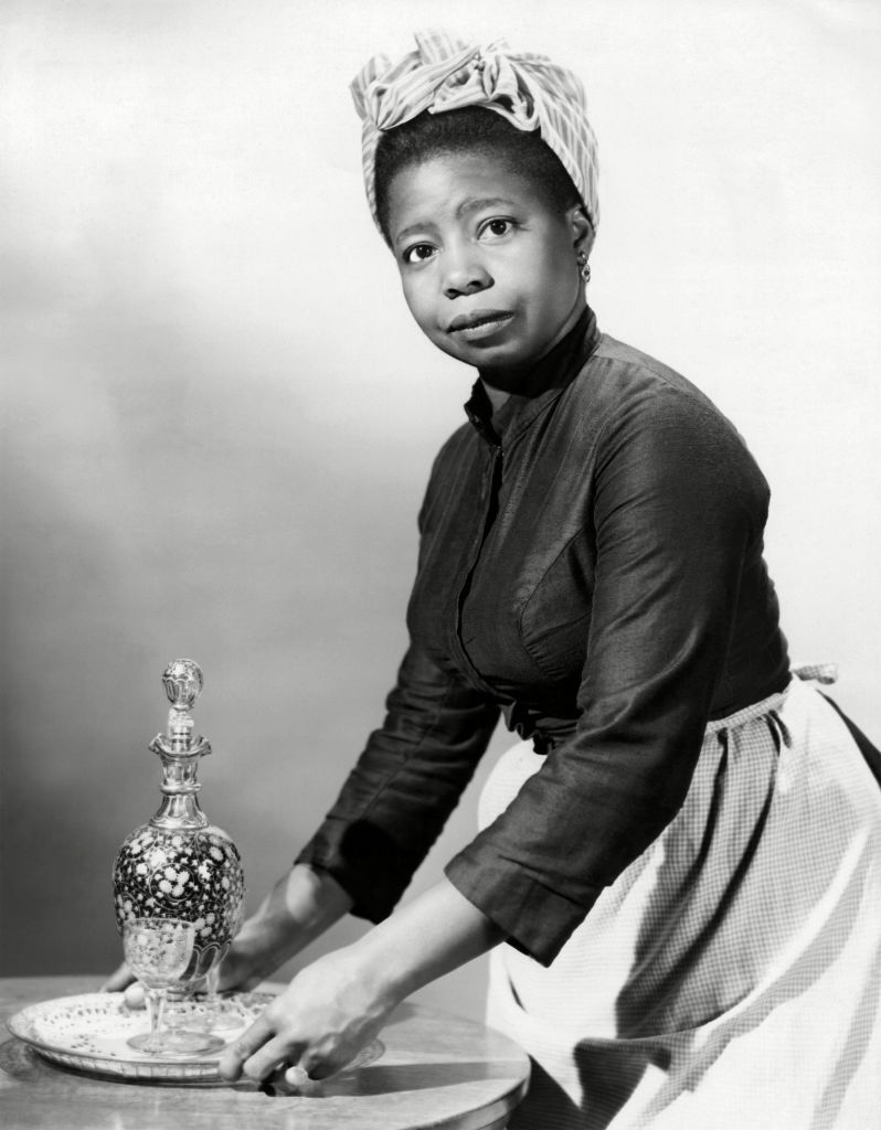 """Butterfly McQueen in a scene from the movie """"Duel in the Sun""""   Source: Getty Images"""