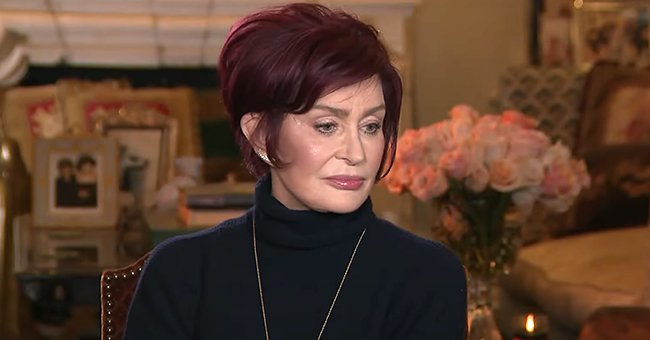 Sharon Osbourne pictured on Entertainment Tonight sharing her side of the story, 2021. | Photo: youtube.com/Entertainment Tonight