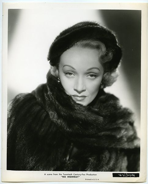 Marlene Dietrich, 1951 | Quelle: Wikimedia Commons