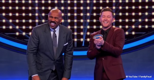 Scotty McCreery's awesome answer on 'Celebrity Family Feud'