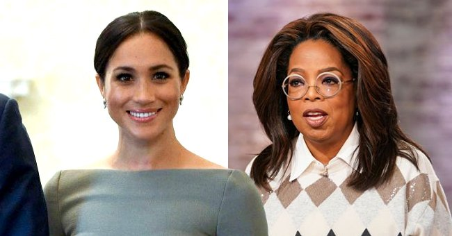 Inside Meghan Markle & Oprah Winfrey's First Meeting