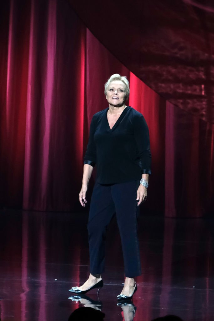 "Muriel Robin présente le spectacle ""Et Pof"" Muriel Robin One Woman Show au Palais des Sports le 03 octobre 2019 à Paris, France. 