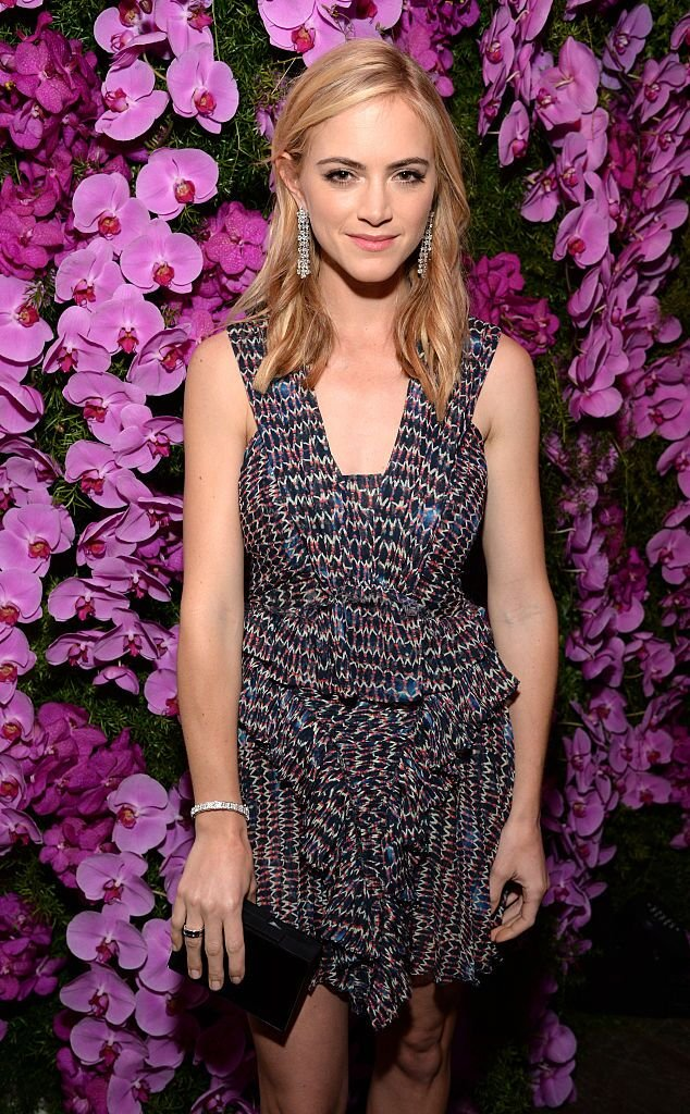 Emily Wickersham attends BVLGARI and Save The Children STOP. THINK. GIVE. Pre-Oscar Event at Spago on February 17, 2015 in Beverly Hills, California. | Source: Getty Images