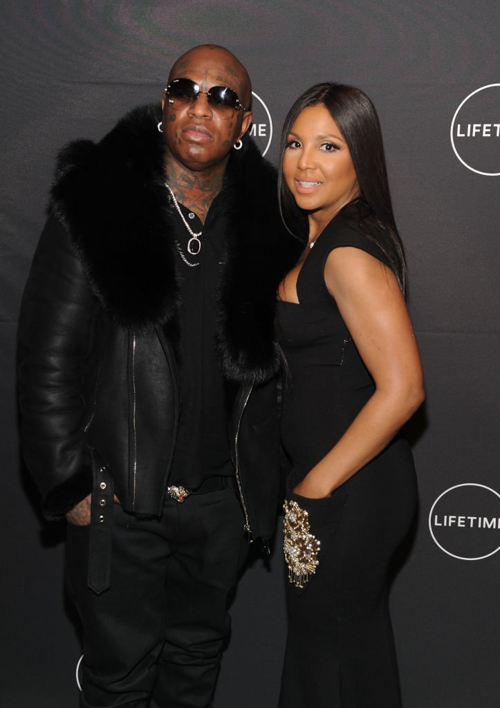 Birdman and Toni Braxton attending Lifetime's Film,'Faith Under Fire: The Antoinette Tuff Story' red carpet screening and premiere event at NeueHouse Madison Square In New York on January 23, 2018. | Source: Getty