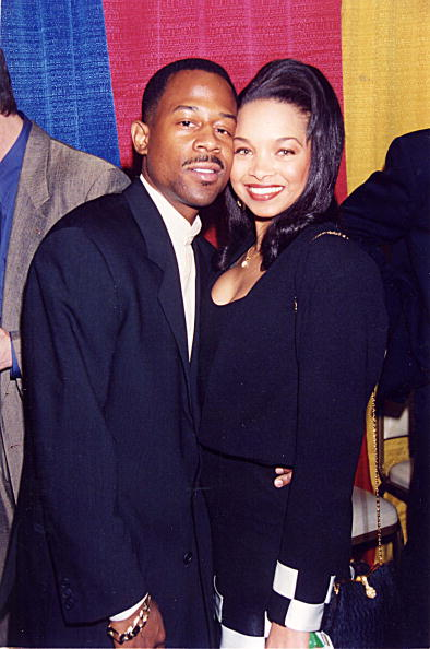 Martin Lawrence and Patricia Southall were pictured together in 1995. | Photo: Getty Images