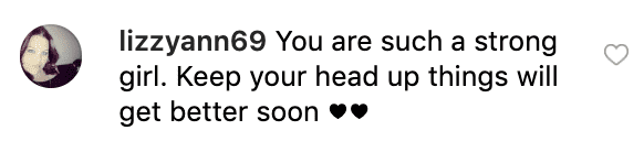 Fan's comment on Alana Thompson's post | Source: Instagram/honeybooboo