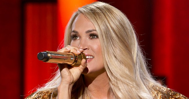 Carrie Underwood Got Very Emotional While Recording a Song with 5-Year-Old Son Isaiah