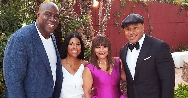 Cookie Johnson Celebrates LL Cool J & Simone Smith's 25th Wedding Anniversary – See Their Cute Group Picture