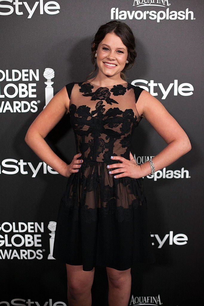 Sosie Bacon attends The 2014 Golden Globe Awards Season at Fig & Olive Melrose Place in Hollywood, California on November 21, 2013 | Photo: Getty Images