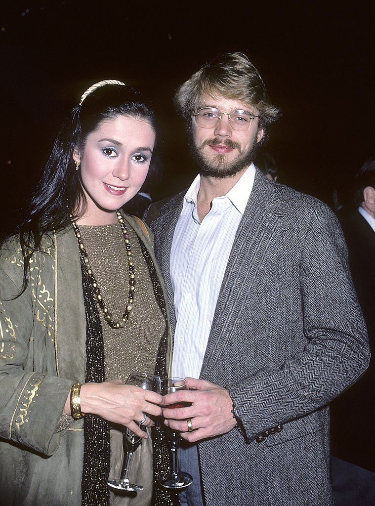 John Schneider and wife actress Tawny Little attend the 26th Annual Grammy Awards Pre-Party on February 27, 1984 | Photo: GettyImages