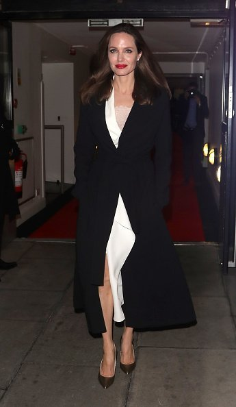 Angelina Jolie leaving the BFI on November 23, 2018 in London, England | Photo: Getty Images