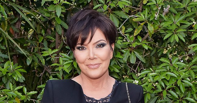 Kris Jenner and Granddaughter Dream Pose in Ruffled Dresses in Her 65th Birthday Photos