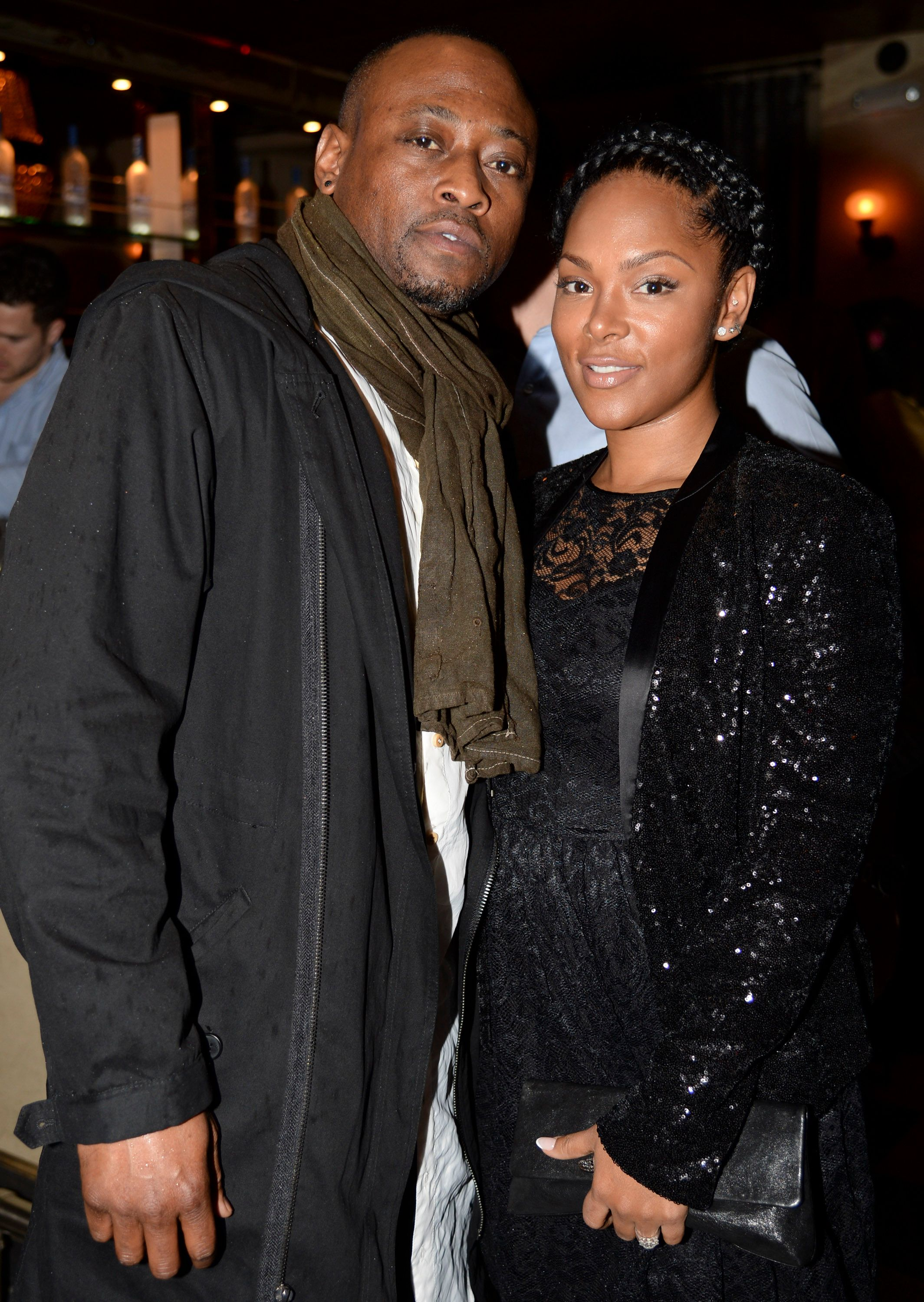 Omar Epps and Keisha Epps attend Anonymous Content's Pre-Golden Globes Party at RivaBella on January 10, 2015 in West Hollywood, California. | Source: Getty Images