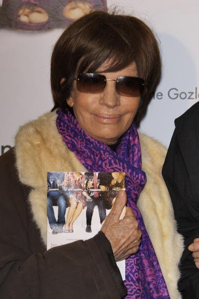 "Nadine Trintignant assiste au "" Code a Change "" en première parisienne le 9 février 2009 à Paris, France. 