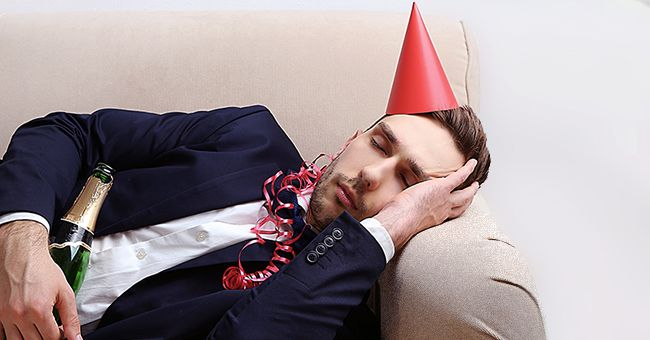 Daily Joke: Man Wakes up with a Hangover after a Party