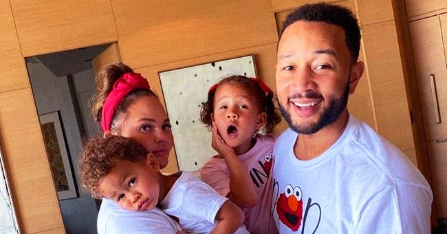 Chrissy Teigen and John Legends' Son Miles Melts Hearts with His Brown Eyes and Curly Hair