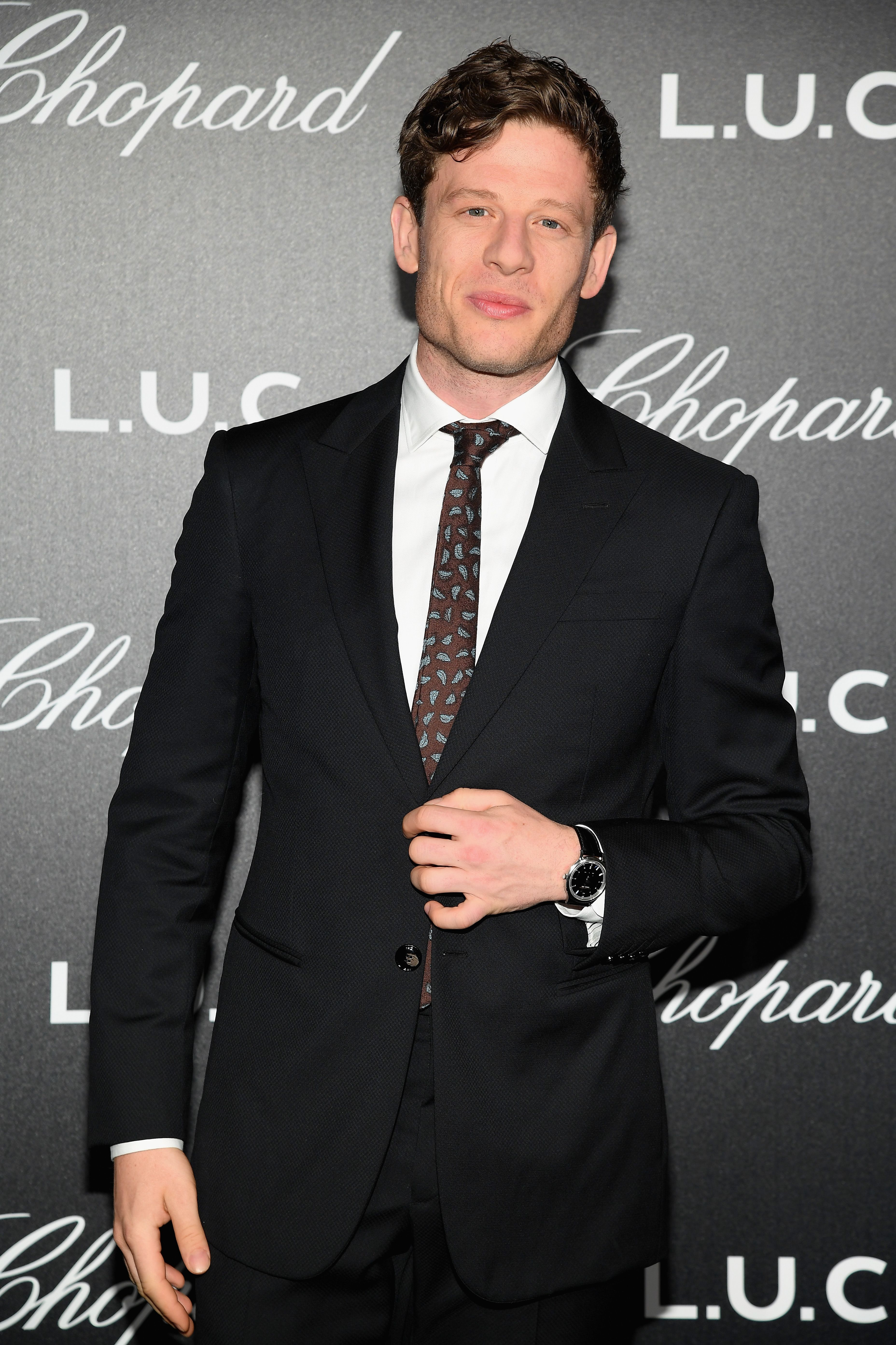 James Norton at the Chopard Gentleman's Evening in 2018 in Cannes, France | Source: Getty Images