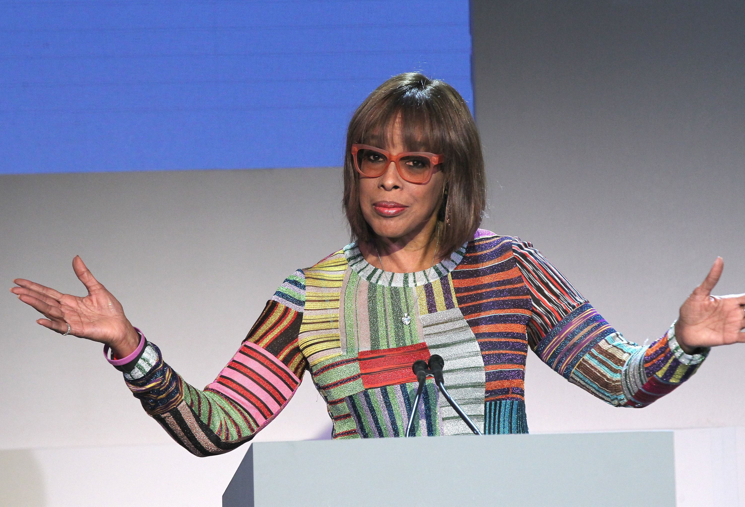 Gayle King speaks onstage at the WSJ. Magazine 2018 Innovator Awards. November 7, 2018 | Photo: GettyImages