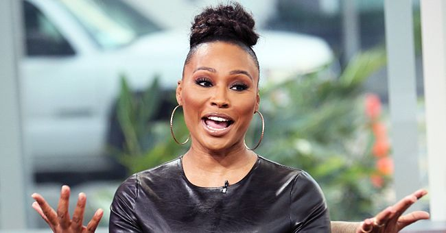 RHOA Star Cynthia Bailey Shines in a Stylish Black Dress