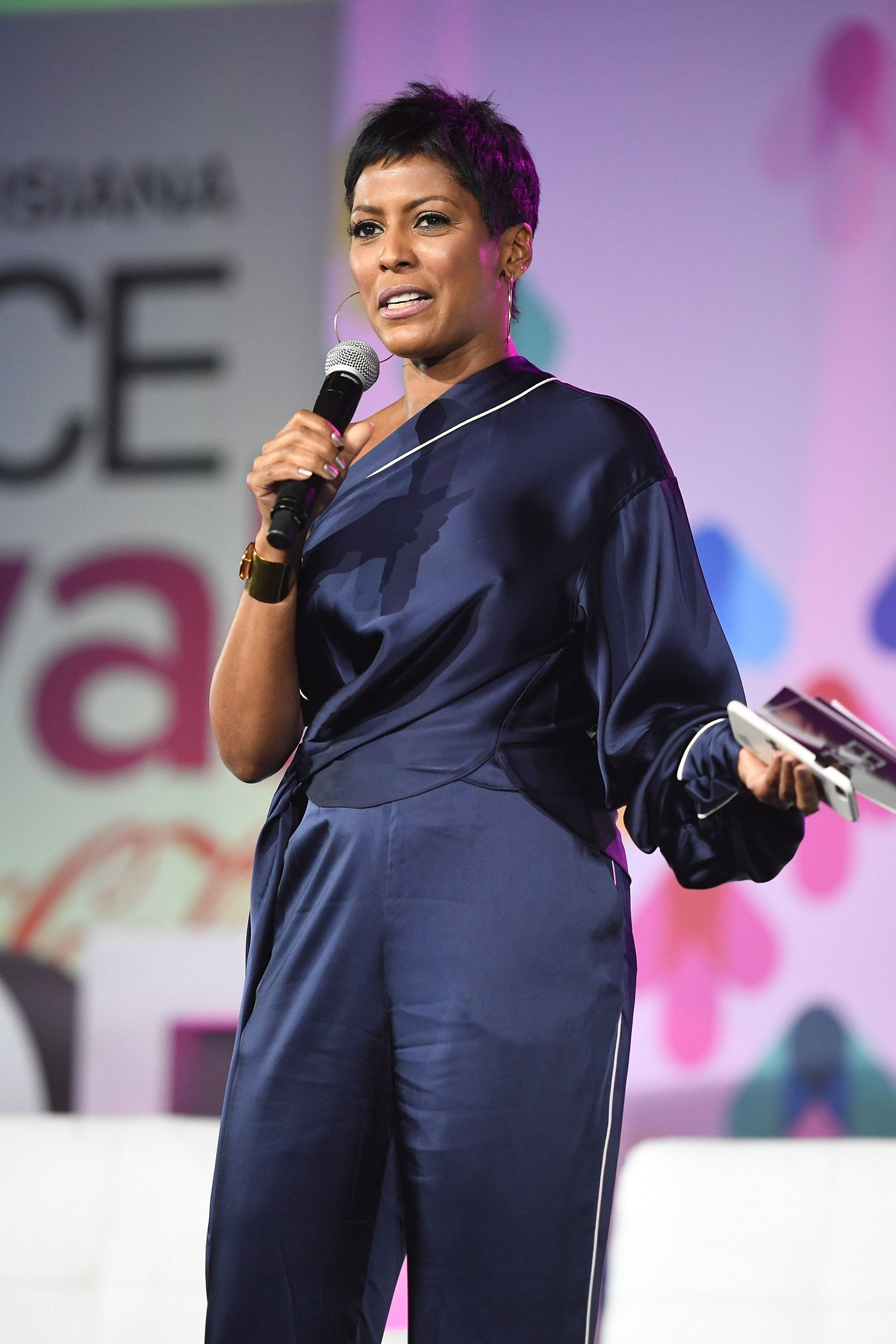 Tamron Hall at the 2017 ESSENCE Festival on June 30, 2017 in Louisiana | Photo: Getty Images
