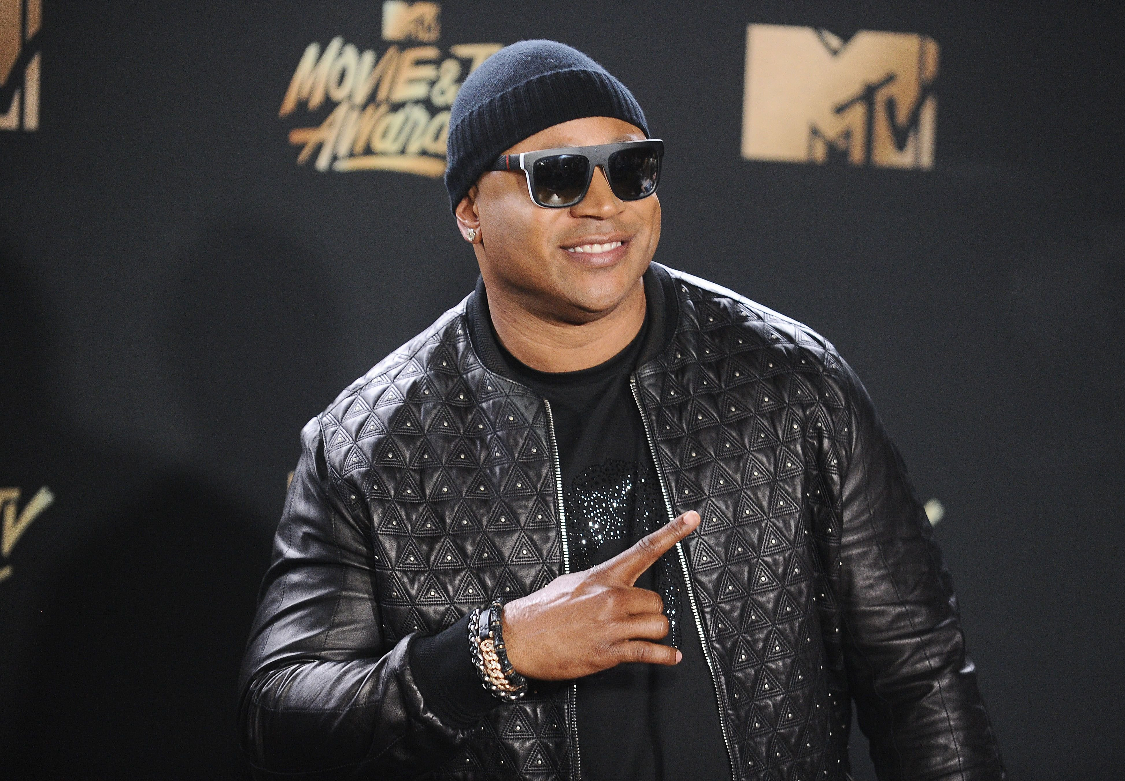 LL Cool J at the 2017 MTV Movie and TV Awards at The Shrine Auditorium on May 7, 2017 in Los Angeles, California   Photo: Getty Images