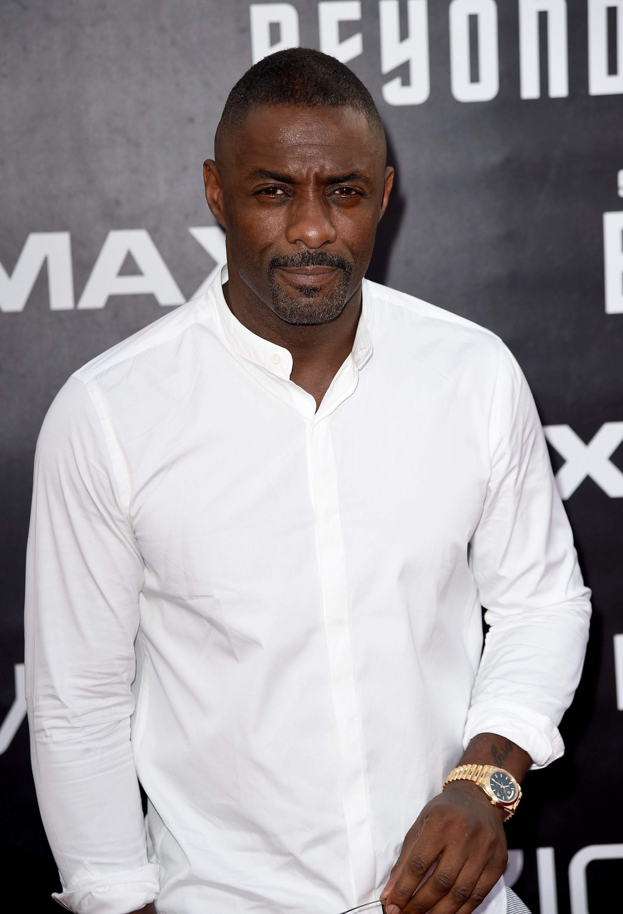 """Idris Elba attends the premiere of Paramount Pictures' """"Star Trek Beyond"""" at Embarcadero Marina Park South on July 20, 2016, in San Diego, California. 