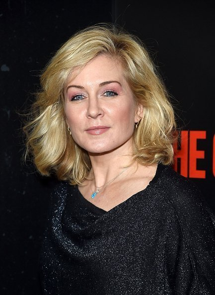 """Amy Carlson at """"The Commuter"""" New York Premiere on January 8, 2018 