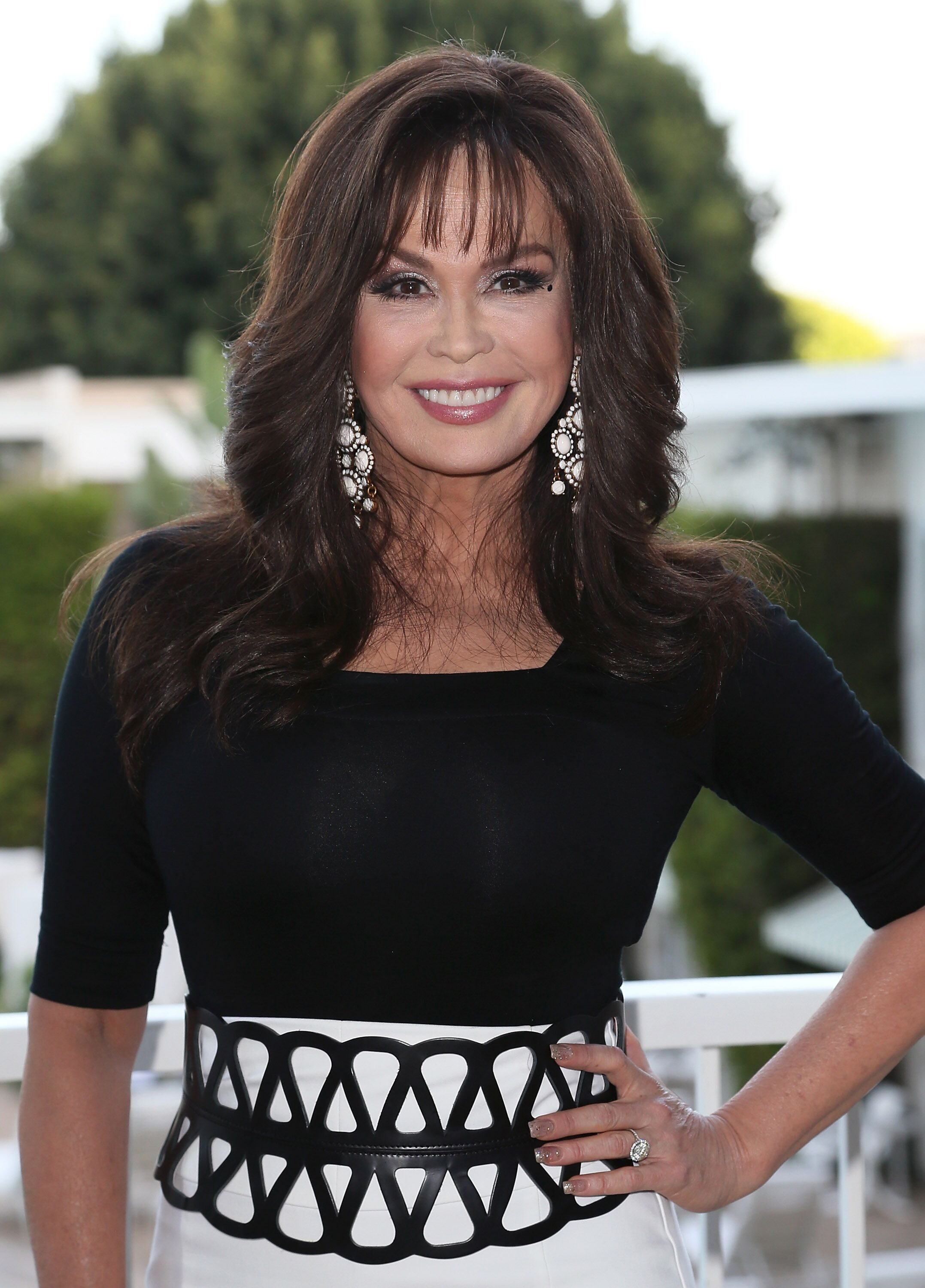 Singer Marie Osmond attends Paul Mitchell Schools' 11th Annual FUNraising Gala at the Beverly Hilton Hotel  | Getty Images