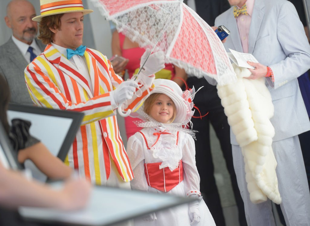 Larry Birkhead and daughter Dannielynn attend the 139th Kentucky Derby in Louisville, Kentucky on May 4, 2013 | Photo: Getty Images