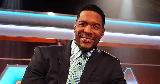 See Michael Strahan React to a Photo from His High School Yearbook with His Name Spelled Wrong