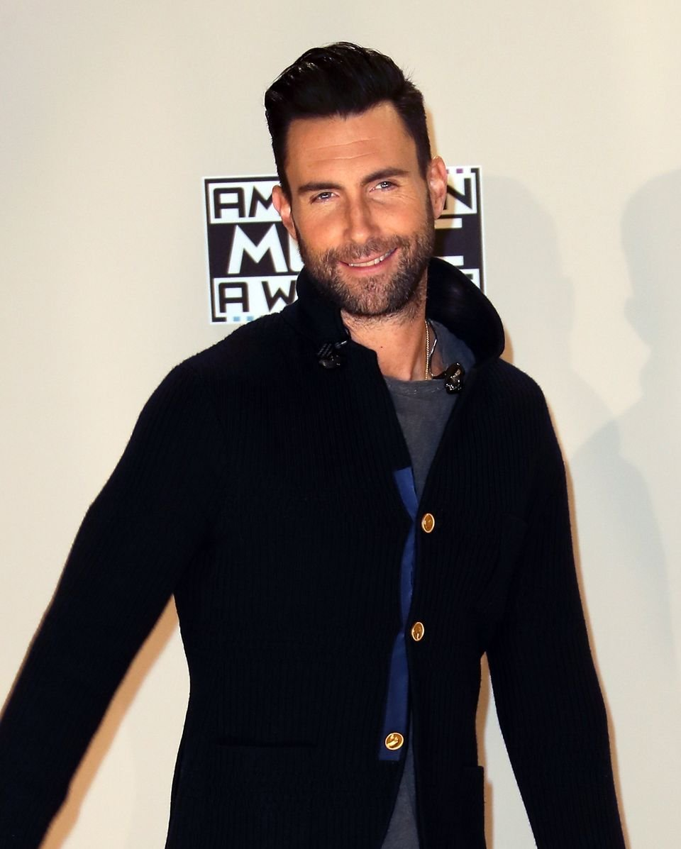 Adam Levine during the 2016 American Music Awards at the Microsoft Theater on November 20, 2016 in Los Angeles, California. | Source: Getty Images