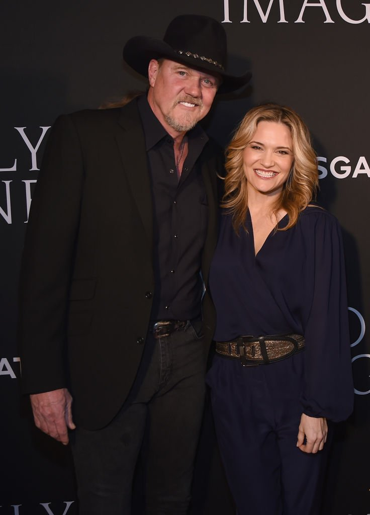 "Trace Adkins and Victoria Pratt attend the ""I Can Only Imagine"" premiere at Schermerhorn Symphony Center 